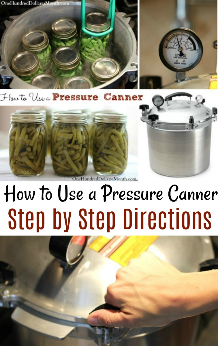 Tutorial: How to Use a Pressure Canner