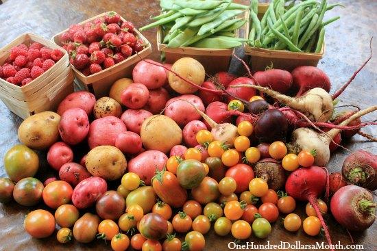 kitchen garden heirloom vegetables