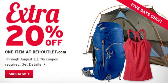 rei outlet coupon