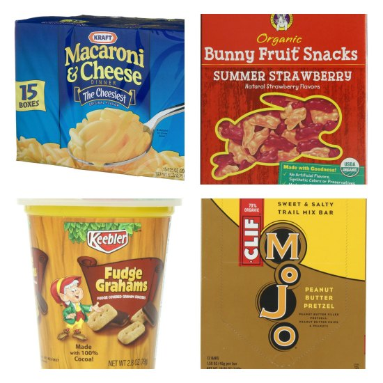 school lunch snacks
