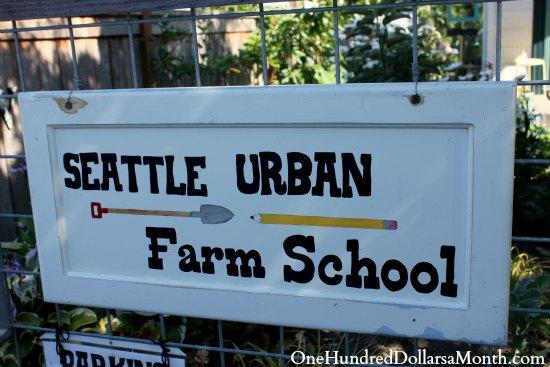 Seattle Urban Farm School Tour
