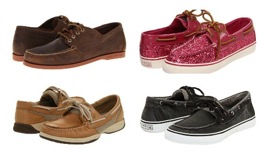 sperry top siders boat shoes