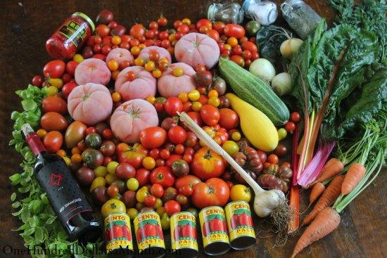 Heirloom Tomato Sauce Recipe {Big Batch}