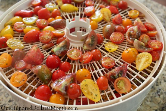 tomatoes dehydrated