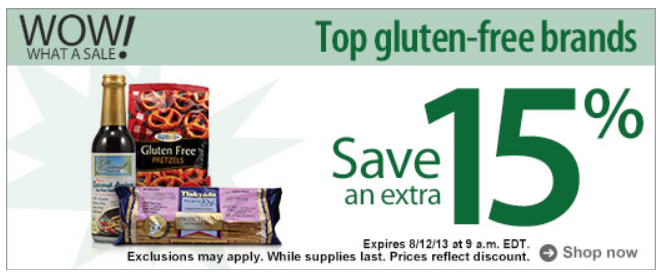 Healthy Back to School Snacks on the Cheap w/ FREE $10 from Vitacost