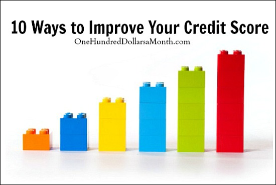 10 Ways to Improve Your Credit Score