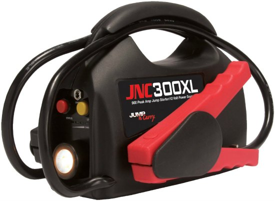 Jump-N-Carry' 900 Peak Amp Ultraportable 12-Volt Jump Starter with Light
