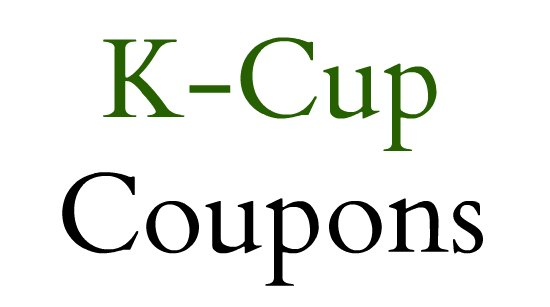 K cup coupons