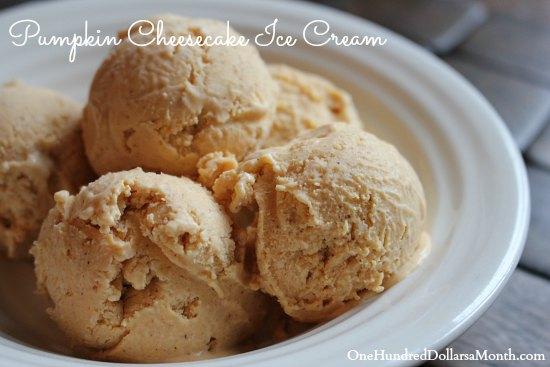 Pumpkin Cheesecake Ice Cream