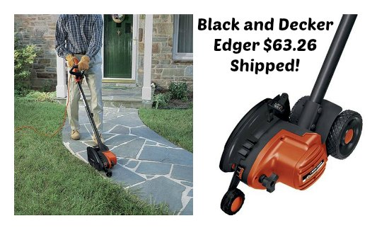 black and decker edger
