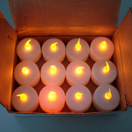 cheap battery powered tealights