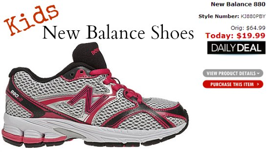 kids new balance shoes deals