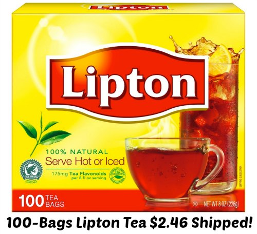 lipton tea bags 100 count