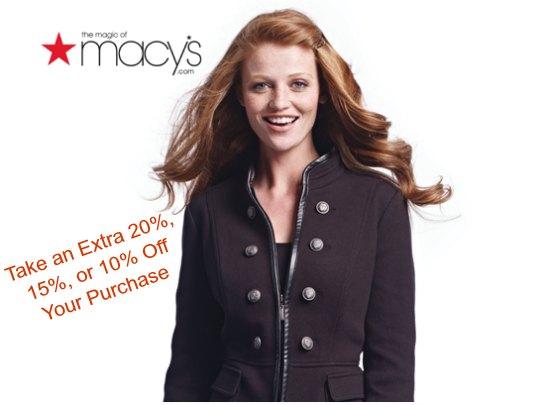 macy's coupon