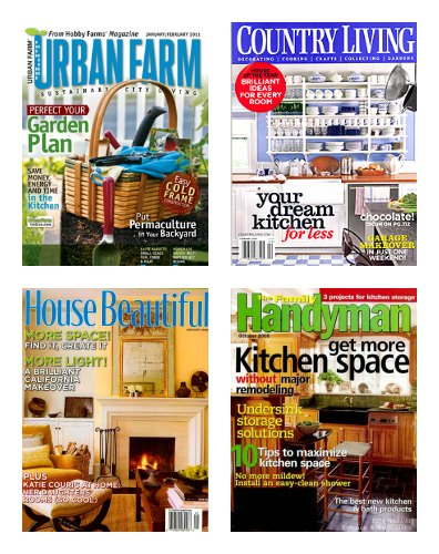 DiscountMags End of Summer Sale – Urban Farm $8.99, Country Living $5.99, House Beautiful $4.99 a Year