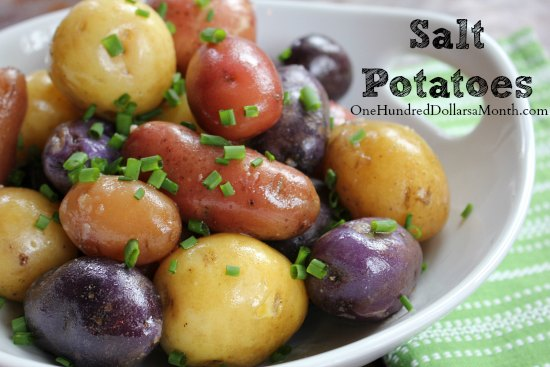 Salt Potatoes Recipe