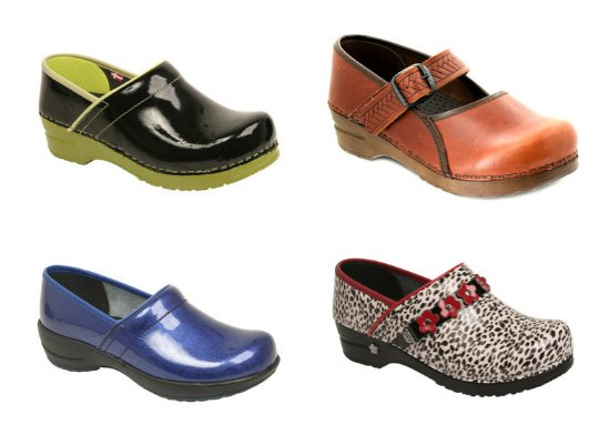 Sanita made Dansko clogs until , at which point their arrangement expired. Sanita-made shoes have a patent number on the bottom, and some will have both the patent number and the name Sanita.
