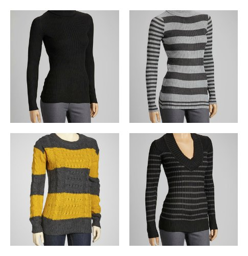 simple sweaters