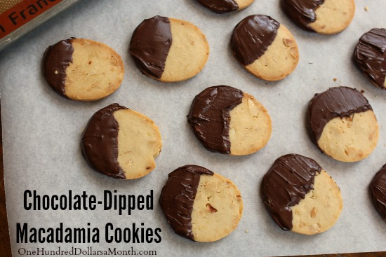 Cookies Chocolate-Dipped Macadamia Cookies Slow Cooker Chex Party Mix ...