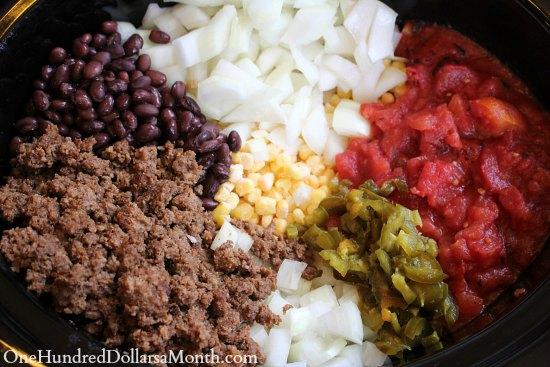 Easy Freezer Meals – Black Bean Taco Soup