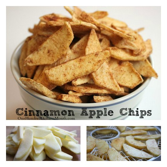 How to Make Cinnamon Apple Chips