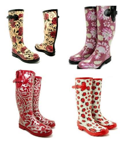 cool rain boots