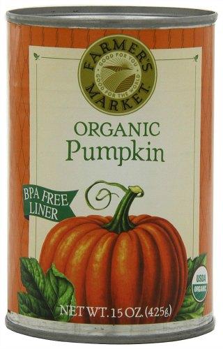 farmer's market organic pumpkin puree