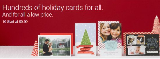 vistaprint christmas cards coupon