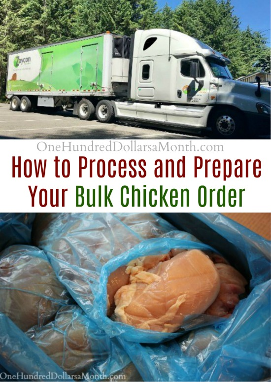 40lbs of Chicken: Now What? How to Process and Prepare Your Bulk Chicken