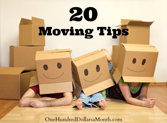 20 Moving Tips