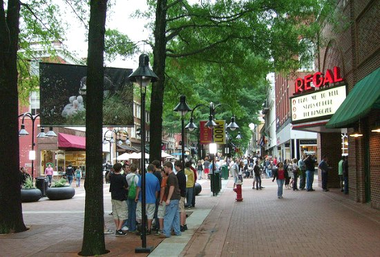 Charlottesville Historic Downtown Mall