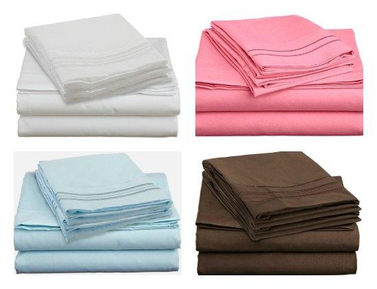 Clara Clark Premier 1800 Series Bed Sheet Collection