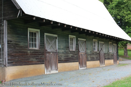 James Madison s Montpelier Barn