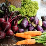 beets blue potatoes carrots broccoli