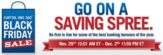 Capital One 360: Get $125 or $75 Bonus for Opening a New Account