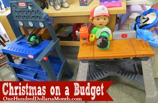 Christmas on a Budget – Buying Toys at the Thrift Store