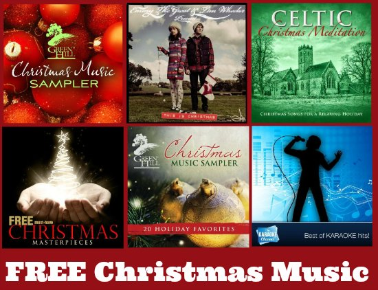 free Christmas music downloads