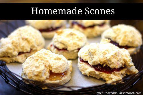 Sunday Brunch Recipe – Homemade Scones