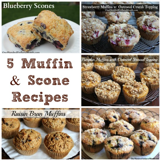 Recipes: The Best Muffin and Scone Recipes