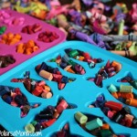 recycled Rainbow Crayons