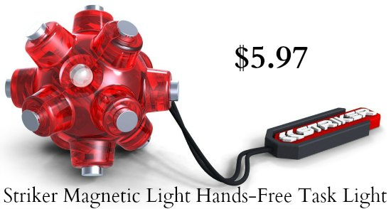 striker magnetic light