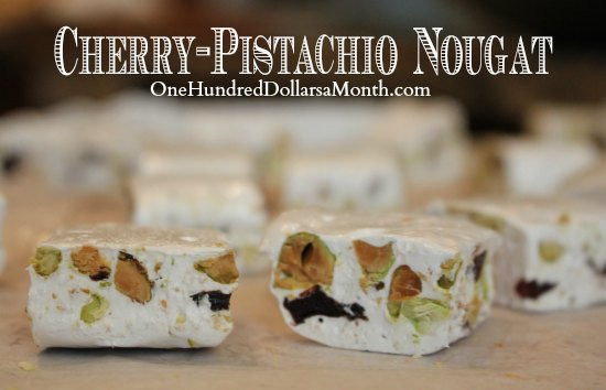 Cherry-Pistachio Nougat Recipe