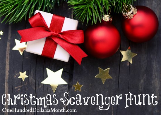 Easy Christmas Games for Kids – Christmas Scavenger Hunt