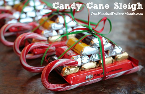Candy Christmas Crafts