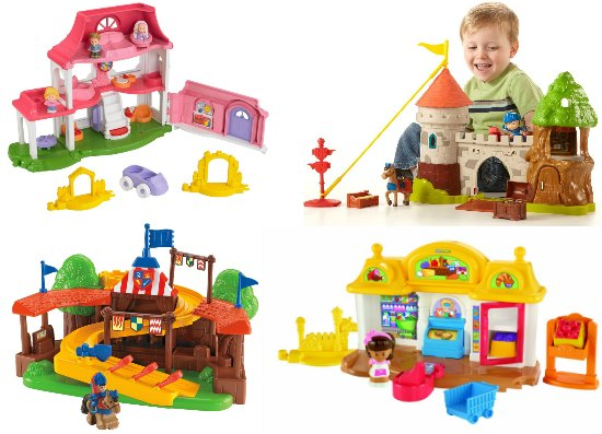 fisher price toys for young children