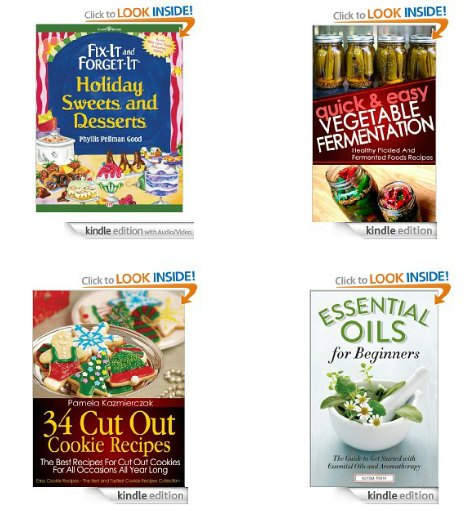 Amazon Deals, Free Kindle Books, Scratch Maps, Canning Supplies, Stocking Stuffers and More