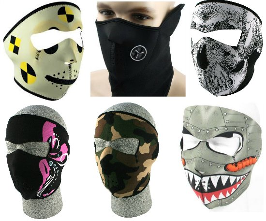 full face ski masks