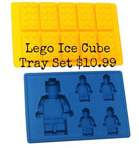 lego ice cube tray set