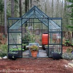 magnum glass greenhouse winter