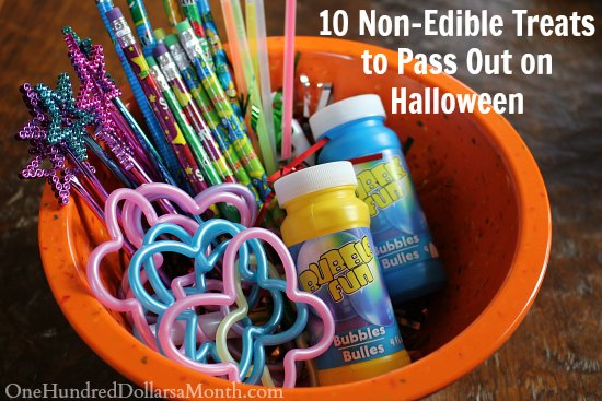 10 Non-Edible Treats to Pass Out on Halloween